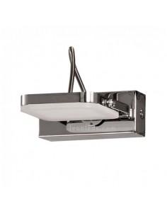 Aplique de Baño LED Maji 1 Luz 4W de Metacrilato y Cromo al mejor precio | LeonLeds