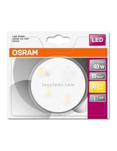 Bombilla LED STAR GX53 40 4,7W 100º Osram Star LedVance redonda Luz Cálida 2700K barata de calidad | LeonLeds