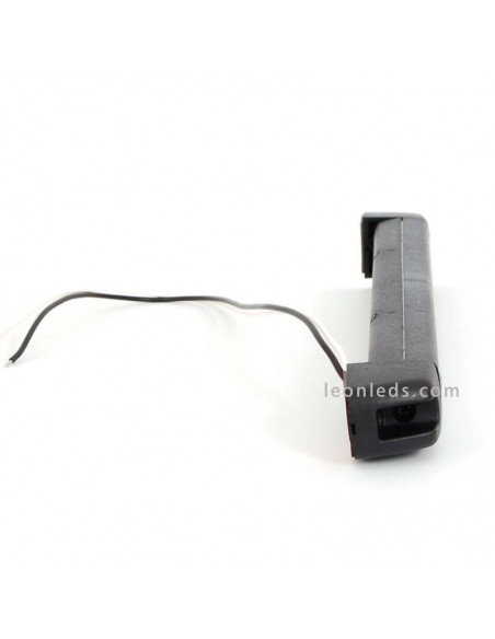 Lámpara Barra LED para vehiculos de 12v de interior o exterior Ip68 negra luz blanca giratoria | LeonLeds Iluminación