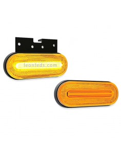 Piloto Lateral e Intermitente LED FT- 071 de Fristom con Cable Ambar | LeonLeds