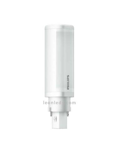 Bombilla LED Philips PL-C G24 2 PIN -4,5W- al mejor precio de internet | LeonLeds